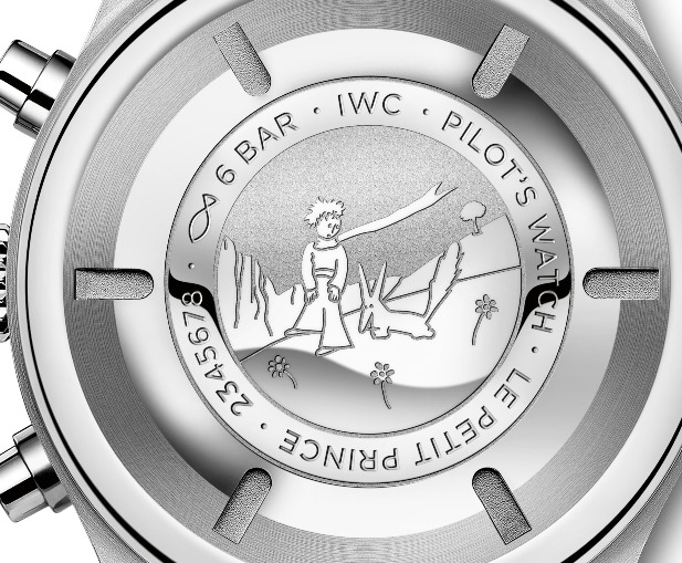 IWC PILOT'S WATCH CHRONOGRAPH EDITION 'LE PETIT PRINCE'