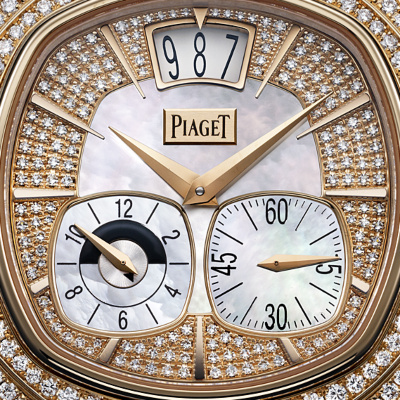 Piaget Rose Gold Diamond Dual Time Zone G0A32020 1
