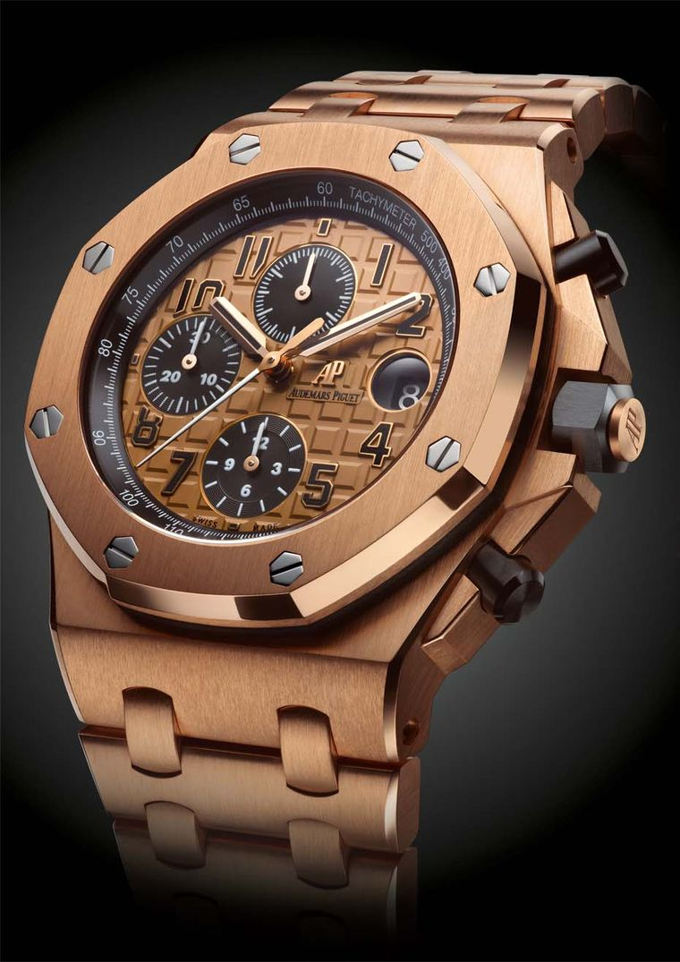 Audemars Piguet Royal Oak Chronograph Rose Gold replica2