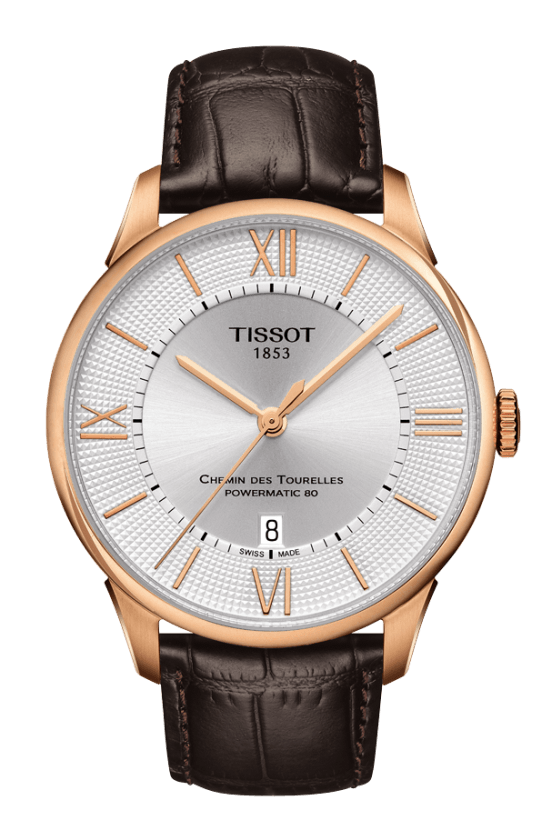 Tissot watches with leathern strap replica