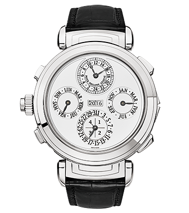 White Gold Patek Philippe Grand Complications Fake Watches