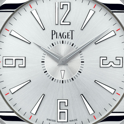 Replica Piaget Polo Desk Clocks With Silvered Dials