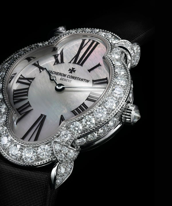 Diamond Bezel Replica Vacheron Constantin Heures Creatives