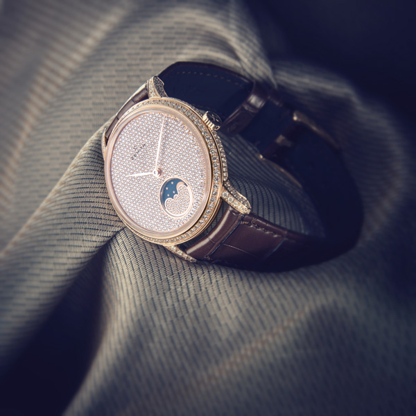 diamond dial copy Zenith Elite Lady Moonphase watches