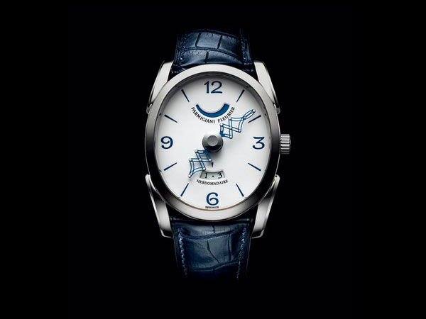 White Dial Replica Parmigiani Ovale Pantographe Watches