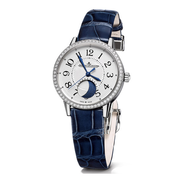 blue steel pointer fake Jaeger-LeCoultre Rendez-Vous Moon Phase