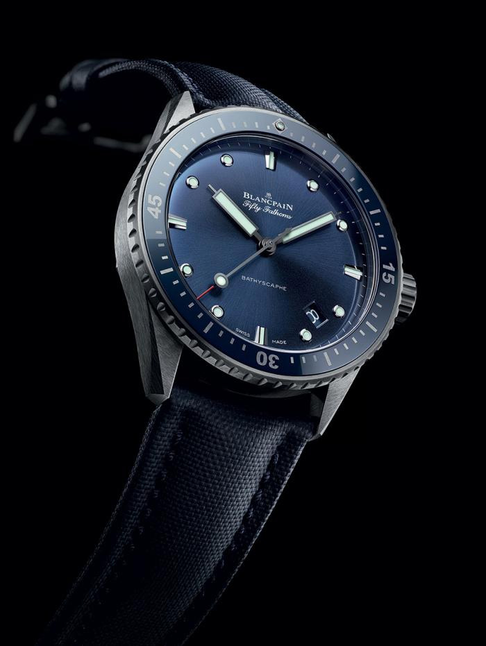 Steel Case Blancpain Fifty Fathoms Bathyscaphe Replica Watches