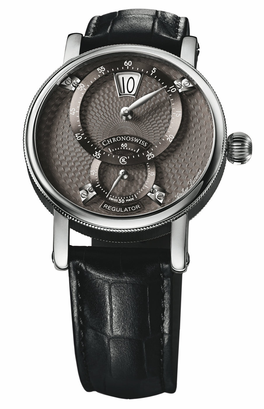 Replica chanel watches - Technical Data Of Exquisite Chronoswiss Sirius Flying Regulator Jumping Hour Fake Watches