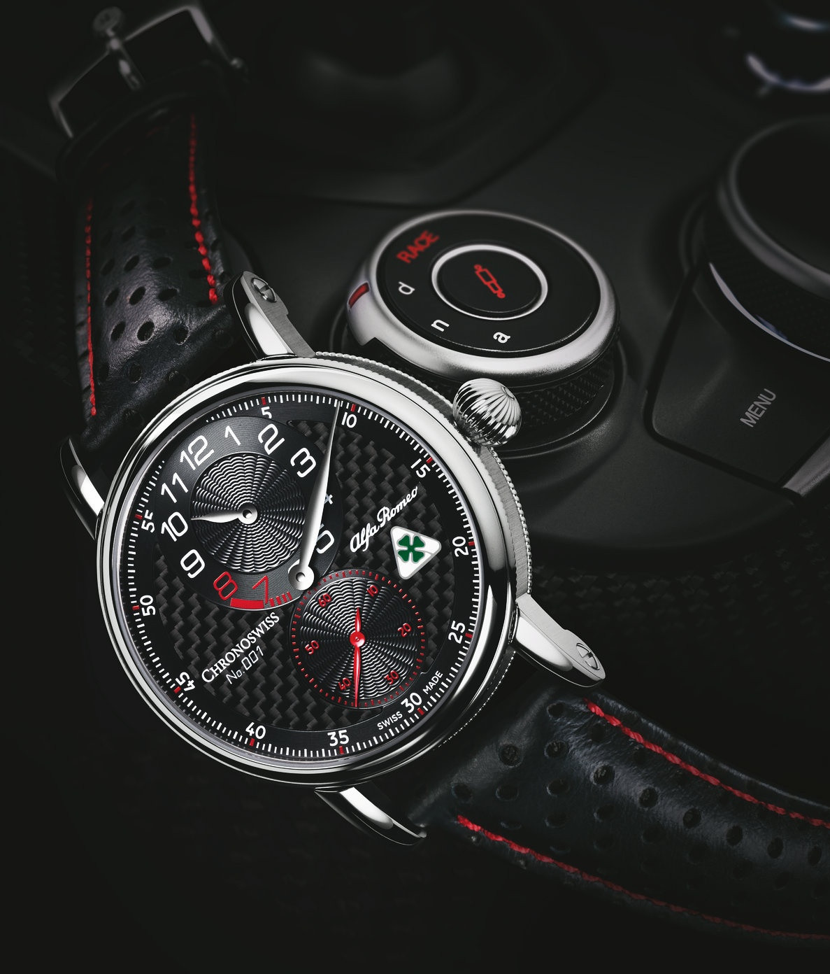The combination of traditional craft and modern theme creates such perfect fake timepieces.