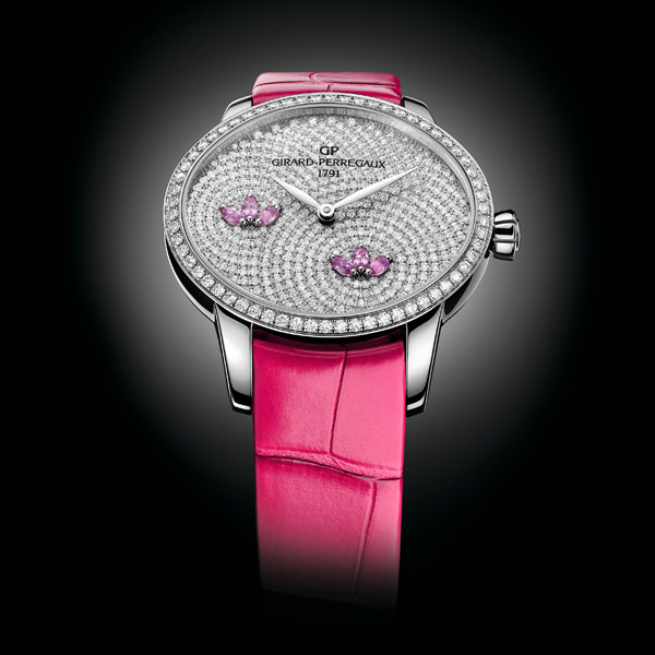 Girard Perregaux Cat's Eye fake watches with shining diamonds are quite noble.