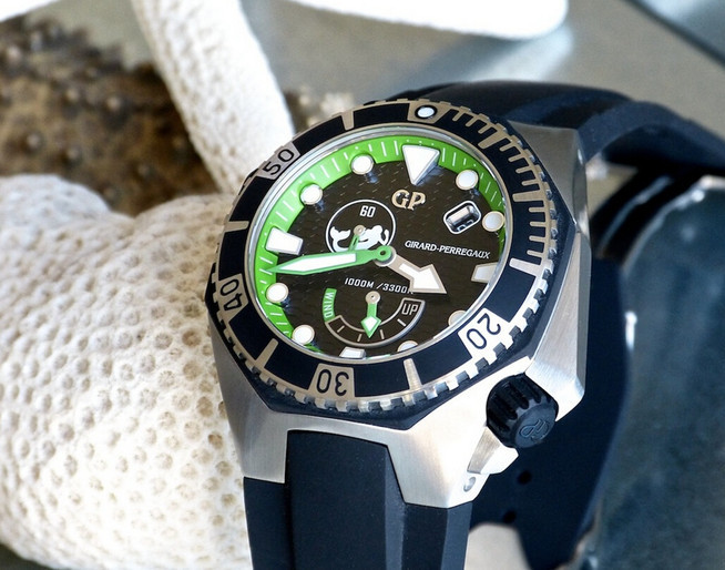 Girard-Perregaux Sea Hawk fake watches for men are naturally limited.