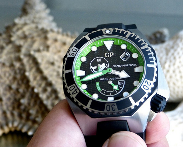 Girard-Perregaux Sea Hawk fake watches for sale are great diving timepieces.