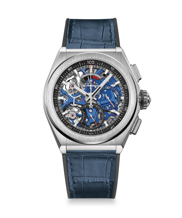 Hollowed dials Zenith Defy copy watches have deep attraction to mechanical lovers.
