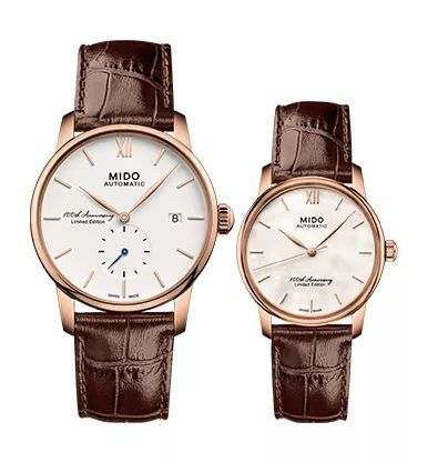 Brown colored fake watches are elegant.