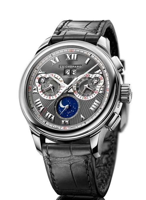 Complex structure adds more points for steel cases Chopard fake watches.
