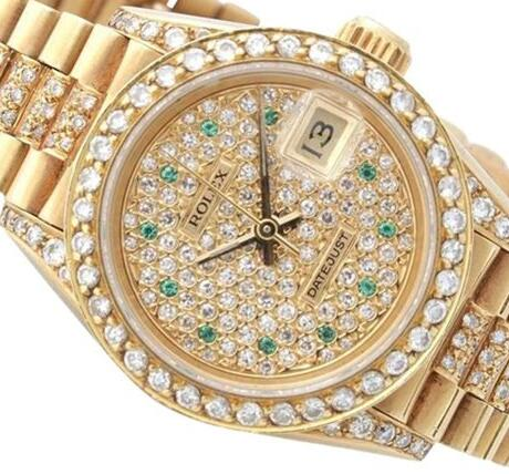 Swiss reproduction watches for hot sale are stunning with diamonds.