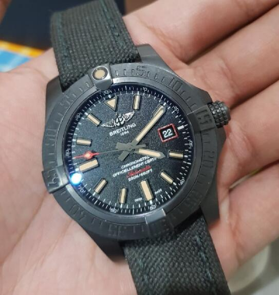 Cool imitation watches sales are solid in black titanium.