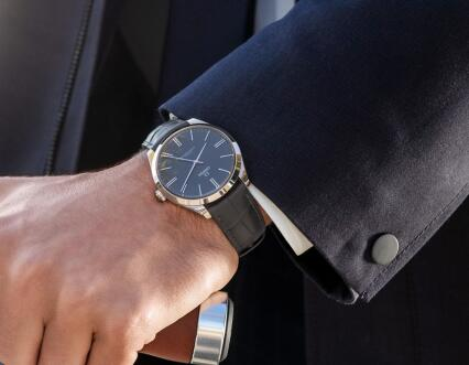 Omega De Ville is suitable for match the suits.